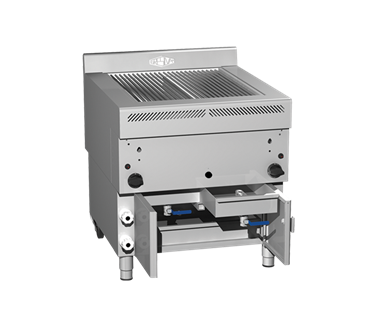 Horizontal gas grill GHPI 2/800 Grill Horizontal Profissional