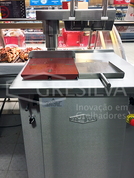 Gresilva roasted chicken cutter Cortadora Industrial de Frangos