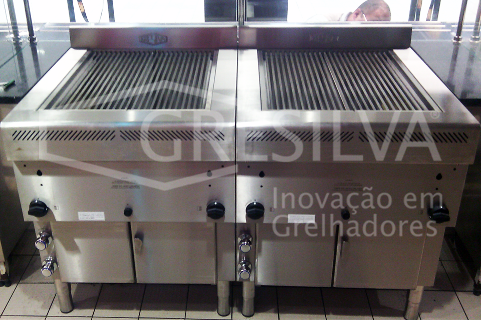 Ready-to-use grills Grelhador Industrial