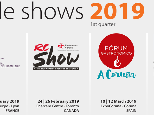 Trade Shows - 1st quarter 2019